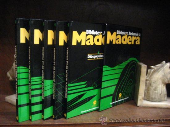 Biblioteca Atrium De La Madera 5 Tomos Ebani Comprar
