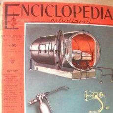 Enciclopedias de segunda mano: ENCICLOPEDIA ESTUDIANTIL CODEX - COMPLETA Y ENTERA - Nº 86 DEL 15 FEBRERO 1962. Lote 35478956
