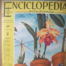 Enciclopedias de segunda mano: ENCICLOPEDIA ESTUDIANTIL CODEX - COMPLETA Y ENTERA - Nº 89 - 8 DE MARZO 1962. Lote 35479045