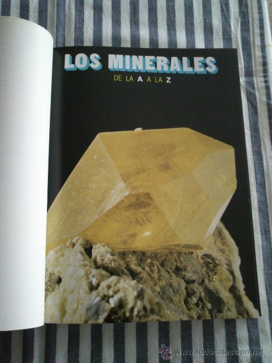 Enciclopedias de segunda mano: Los Minerales, de la A a la Z. 3 Tomos, el nº 3 sin tapas solo los fasciculos. Ed Nueva Lente. - Foto 3 - 35483941