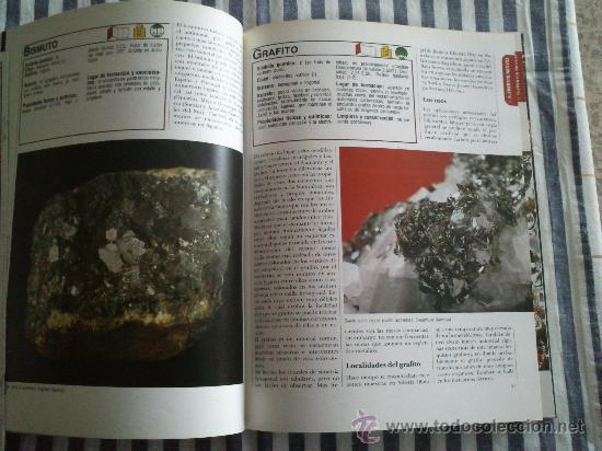 Enciclopedias de segunda mano: Los Minerales, de la A a la Z. 3 Tomos, el nº 3 sin tapas solo los fasciculos. Ed Nueva Lente. - Foto 4 - 35483941