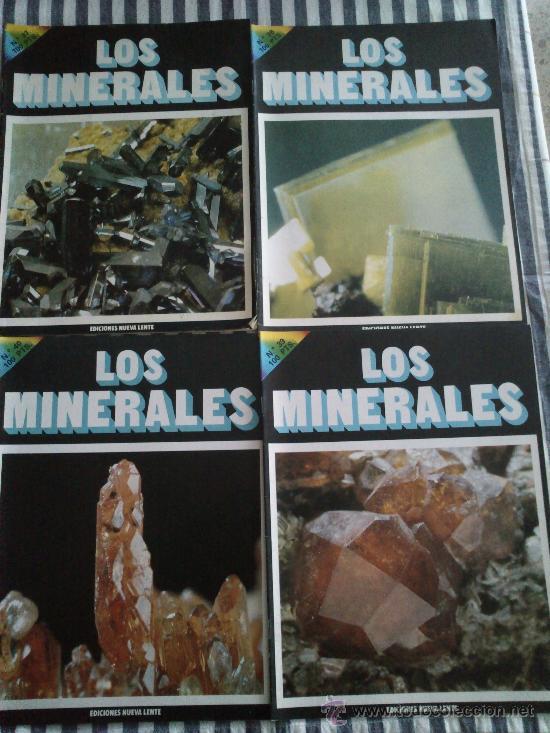Enciclopedias de segunda mano: Los Minerales, de la A a la Z. 3 Tomos, el nº 3 sin tapas solo los fasciculos. Ed Nueva Lente. - Foto 5 - 35483941