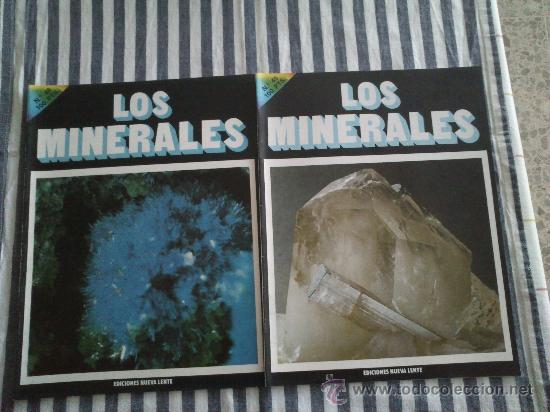 Enciclopedias de segunda mano: Los Minerales, de la A a la Z. 3 Tomos, el nº 3 sin tapas solo los fasciculos. Ed Nueva Lente. - Foto 7 - 35483941