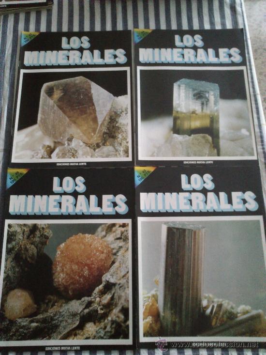 Enciclopedias de segunda mano: Los Minerales, de la A a la Z. 3 Tomos, el nº 3 sin tapas solo los fasciculos. Ed Nueva Lente. - Foto 8 - 35483941