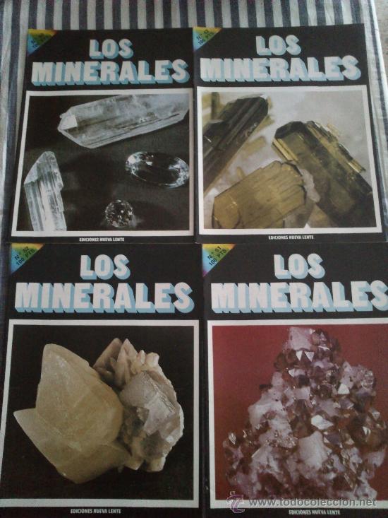 Enciclopedias de segunda mano: Los Minerales, de la A a la Z. 3 Tomos, el nº 3 sin tapas solo los fasciculos. Ed Nueva Lente. - Foto 9 - 35483941