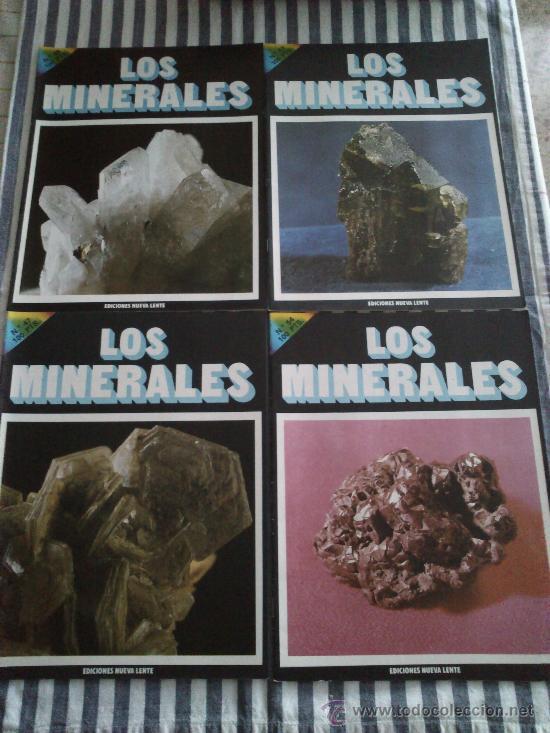 Enciclopedias de segunda mano: Los Minerales, de la A a la Z. 3 Tomos, el nº 3 sin tapas solo los fasciculos. Ed Nueva Lente. - Foto 11 - 35483941