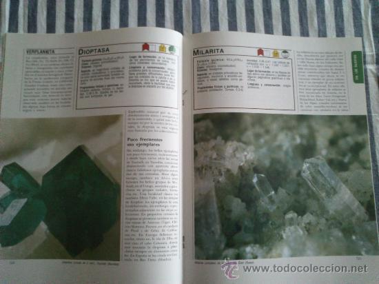 Enciclopedias de segunda mano: Los Minerales, de la A a la Z. 3 Tomos, el nº 3 sin tapas solo los fasciculos. Ed Nueva Lente. - Foto 12 - 35483941