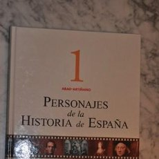 Enciclopedias de segunda mano: PERSONAJES DE LA HISTORIA DE ESPAÑA TOMO 1 ESPASA. Lote 35962174