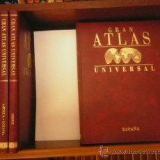 Enciclopedias de segunda mano: GRAN ATLAS UNIVERSAL - 6 TOMOS. Lote 36578741