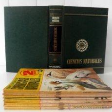 Enciclopedias de segunda mano: LOTE DE 24 FASCICULOS DE LA ENCICLOPEDIA CIENCIAS NATURALES . Lote 37220806