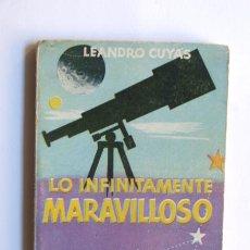 Livros em segunda mão: ENCICLOPEDIA PULGA N. 33 / LO INFINITAMENTE MARAVILLOSO / L. CUYAS / TAMAÑO: 10,5 X 7,5 CM.. Lote 37356894