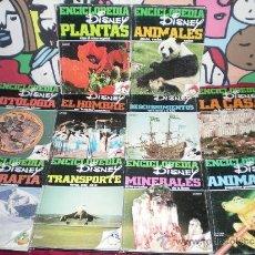Enciclopedias de segunda mano: ENCICLOPEDIA DISNEY COMPLETA 10 TOMOS 1971 EDITORIAL MONTENA MADRID. Lote 61536394