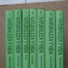 Enciclopedias de segunda mano: NATURALEZA Y VIDA. NATIONAL GEOGRAPHIC SOCIETY.. Lote 37561531