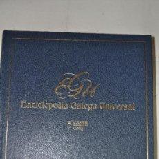 Enciclopedias de segunda mano: ENCICLOPEDIA GALEGA UNIVERSAL. TOMO 5: CASAM / COLQ.. XOSÉ ANTONIO PEROZO RUÍZ RM62427. Lote 37742272