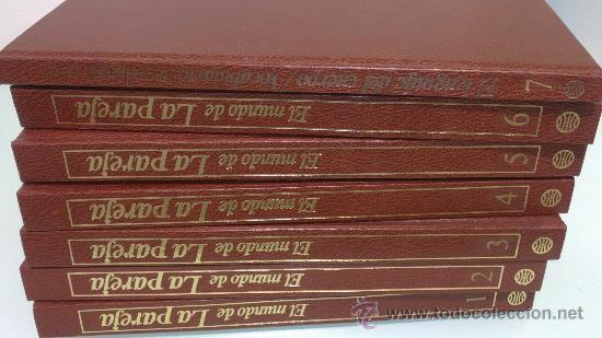 Enciclopedias de segunda mano: el mundo de la pareja completa los 7 tomos - Foto 2 - 37839175