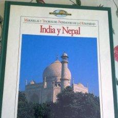 Enciclopedias de segunda mano: MARAVILLAS Y TESOROS DEL PATRIMONIO DE LA HUMANIDAD INDIA Y NEPAL TIEMPO EST14B2. Lote 37840139