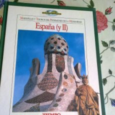 Enciclopedias de segunda mano: MARAVILLAS Y TESOROS DEL PATRIMONIO DE LA HUMANIDAD ESPAÑA ( II ) TIEMPO EST14B2. Lote 37840308