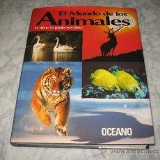 Enciclopedias de segunda mano: LIBRO LIBROS EL MUNDO DE LOS ANIMALES LA VIDA EN LOS GRANDES ECOSISTEMAS OCEANO ENCICLOPEDIA. Lote 37858162