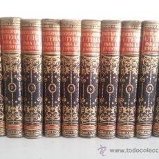 Enciclopedias de segunda mano: ENCICLOPEDIA UTEHA PARA LA JUVENTUD - 10 VOLÚMENES (COMPLETA). 1953. Lote 227465305