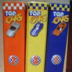 Enciclopedias de segunda mano: TOP CARS.3 CARPETAS CON FICHAS... Lote 38581168