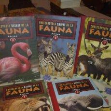Enciclopedias de segunda mano: ENCICLOPEDIA SALVAT DE LA FAUNA AFRICA TOMO 1-2-3-4-5. EST2B3 R. Lote 38618010