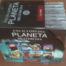 Enciclopedias de segunda mano: ENCICLOPEDIA PLANETA MULTIMEDIA COMPLETA:8 CD-ROM.SIN/USO. Lote 38932899