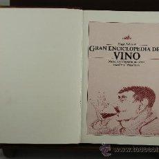 Enciclopedias de segunda mano: 3680- GRAN ENCICLOPEDIA DEL VINO. HUG JOHNSON. EDIT. FOLIO. 1983. . Lote 38934766