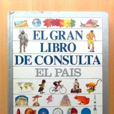 Enciclopedias de segunda mano: EL GRAN LIBRO DE CONSULTA, EL PAIS ALTEA, COMPLETO Y ENCUADERNADO. Lote 145626178