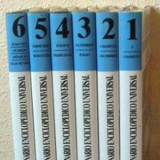 Enciclopedias de segunda mano: DICCIONARIO ENCICLOPÉDICO UNIVERSAL - 6 TOMOS COMPLETO - OCEANO COLOR 1998 - VER DESCRIPCIÓN. Lote 39149475