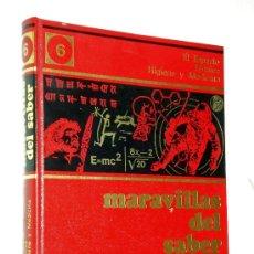 Enciclopedias de segunda mano: ENCICLOPEDIA MARAVILLAS DEL SABER / TOMO 6 EL ESPACIO TÉCNICA HIGIENE Y MEDICINA - CREDSA 1976. Lote 39175723