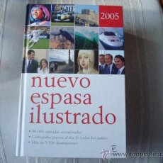 Enciclopedias de segunda mano: ENCICLOPEDIA DICCIONARIO NUEVO ESPASA ILUSTRADO 2005. Lote 39226733