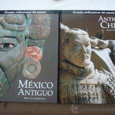 Enciclopedias de segunda mano: GRANDES CIVILIZACIONES DEL PASADO: 4 TOMOS, 2005 EDITORIAL FOLIO. NUEVOS. Lote 39241416