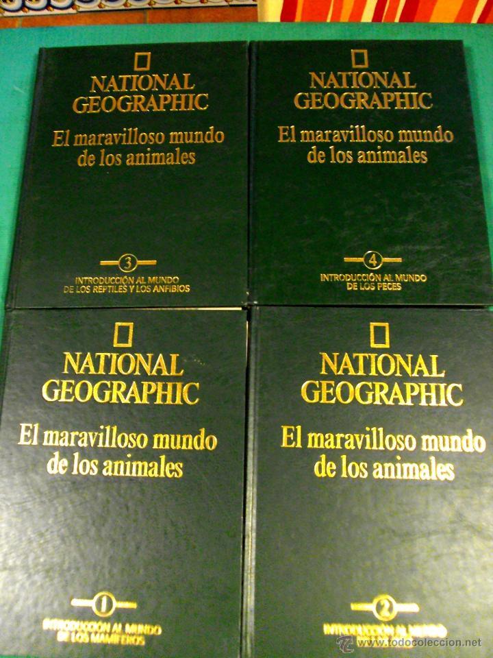 EL MARAVILLOSO MUNDO DE LOS ANIMALES DE NATIONAL GEOGRAPHIC (Libros de Segunda Mano - Enciclopedias)