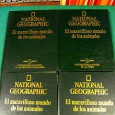 Enciclopedias de segunda mano: EL MARAVILLOSO MUNDO DE LOS ANIMALES DE NATIONAL GEOGRAPHIC. Lote 39488097
