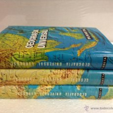 Enciclopedias de segunda mano - GEOGRAFIA UNIVERSAL LAROUSSE - 3 TOMOS. COMPLETA. - 39646477