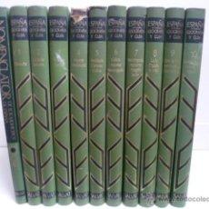 Enciclopedias de segunda mano: CONOCER ESPAÑA. GEOGRAFÍA Y GUÍA. SALVAT. COLECCIÓN COMPLETA, 11 TOMOS. 1973.. Lote 39999628