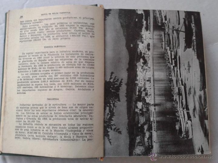 Enciclopedias de segunda mano: ENCICLOPEDIA GEOGRAFICA DE ESPAÑA EDIT GASSO AÑO 1958 - Foto 2 - 40279836