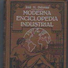 Enciclopedias de segunda mano: MODERNA ENCICLOPEDIA INDUSTRIAL, JOSE M.DELORME, TM II, ANTONIO ROCH EDITOR, BARCELONA. Lote 40327192
