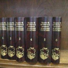 Livres d'occasion: ALAVESES ILUSTRES, ECHÁVARRI VICENTE G, 6 TOMOS COMPLETA Y NUEVA, TEMA VASCO. Lote 152405005