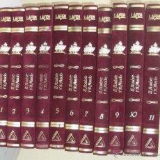 Enciclopedias de segunda mano: EL HOMBRE Y SU MUNDO - 11 TOMOS COMPLETA Y COMO NUEVA - ED. AGLO 1991 - 2816 PÁGINAS - VER ÍNDICES. Lote 41019693