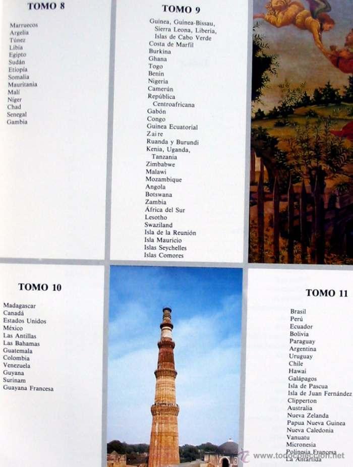 Enciclopedias de segunda mano: EL HOMBRE Y SU MUNDO - 11 TOMOS COMPLETA Y COMO NUEVA - ED. AGLO 1991 - 2816 PÁGINAS - VER ÍNDICES - Foto 5 - 41019693