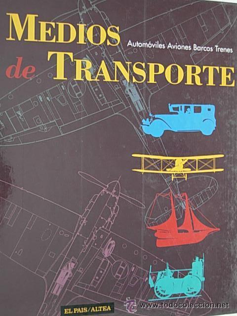 MEDIOS DE TRANSPORTE EL PAIS (Libros de Segunda Mano - Enciclopedias)