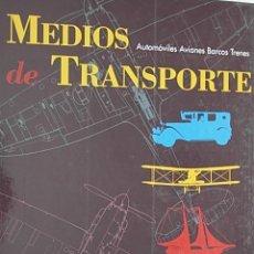 Enciclopedias de segunda mano: MEDIOS DE TRANSPORTE EL PAIS. Lote 70094815