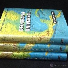 Enciclopedias de segunda mano: GEOGRAFIA UNIVERSAL LAROUSSE, EDITORIAL PLANETA - 3 TOMOS. Lote 41516478