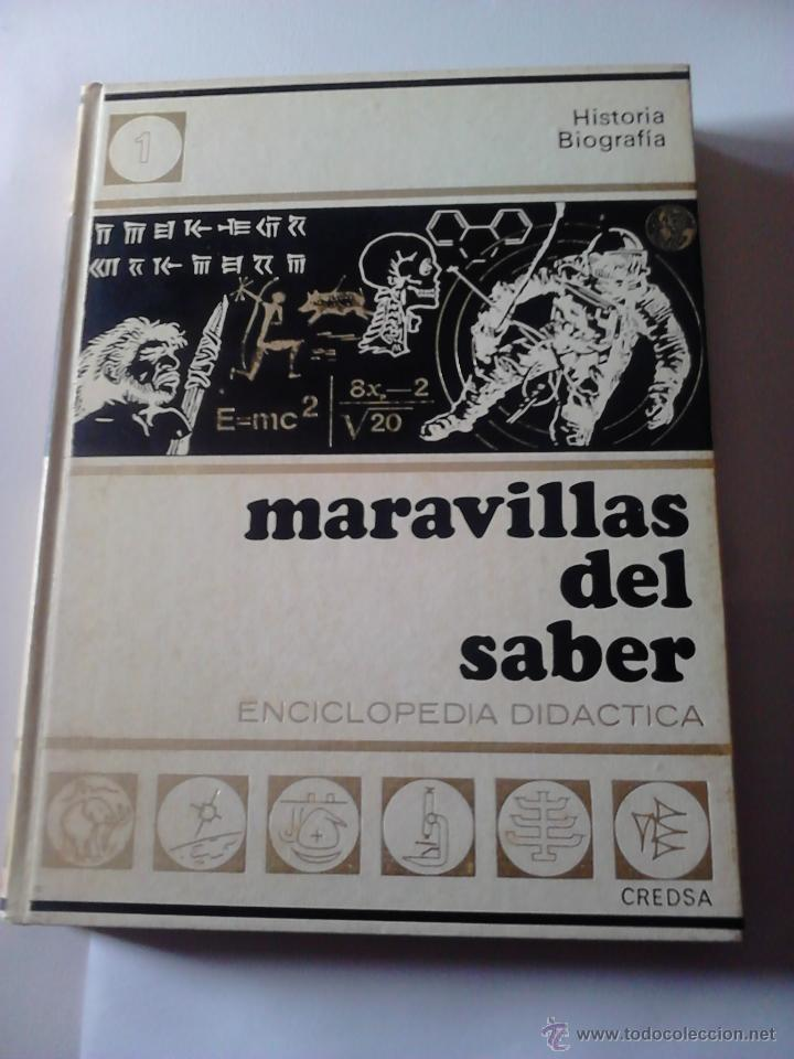MARAVILLAS DEL SABER 10 TOMOS (Libros de Segunda Mano - Enciclopedias)