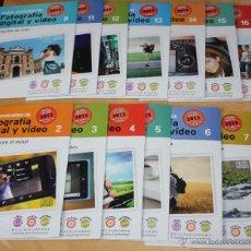 Enciclopedias de segunda mano: CURSO DE FOTOGRAFIA DIGITAL Y VIDEO DE 2013 (FASCICULOS 2,3,4,5,6,7,9,11,12,13,14,15 Y 16). Lote 42057810