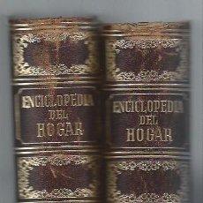 Enciclopedias de segunda mano: ENCICLOPEDIA DEL HOGAR, 2 TMS, ARGOS BARCELONA 1957, ILUSTRACIONES NEGRO Y COLOR. Lote 42429005