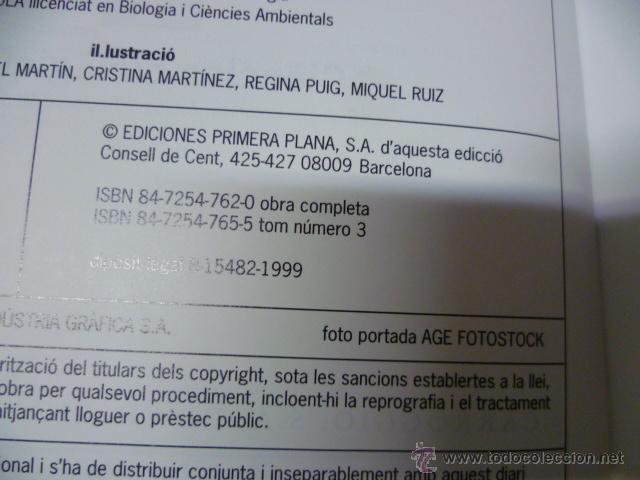 Enciclopedias de segunda mano: nova eciclopèdia catalana de l´estudiant, tomo 3, 1999 como nuevo - Foto 2 - 42765362