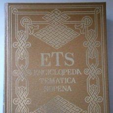 Enciclopedias de segunda mano: ENCICLOPEDIA TEMATICA SOPENA CINEMATOGRAFIA RADIO Y TELEVISION DEPORTES RAMON SOPENA 1984. Lote 43268601