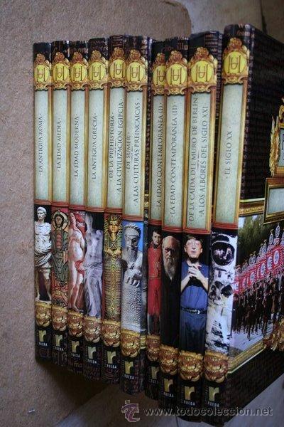 HISTORIA UNIVERSAL. EDICIONES RUEDA. 10 TOMOS. (Libros de Segunda Mano - Enciclopedias)